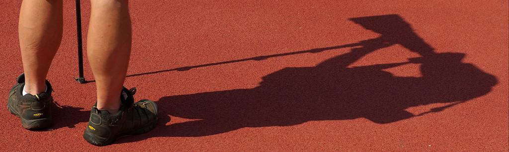 Joe Duty casts a large shadow