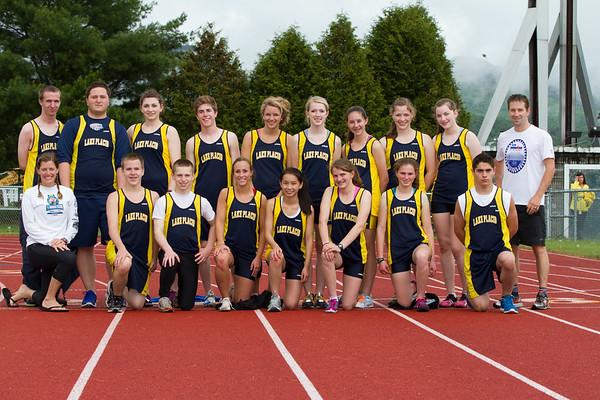 2012 Varsity Track