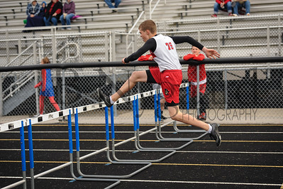 4-11-17 Bluffton JH track at LB-59