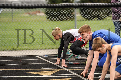 4-11-17 Bluffton JH track at LB-34