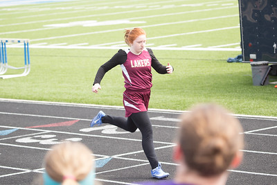 PV Jr High Track @ Lakeview 4-15-18