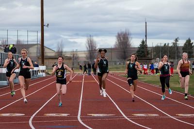 Redmond HS track meet