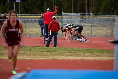 La Pine track meet