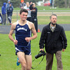 Senior Sam Carlson gave it 110% to bet the school's record in the mile run but fell short by one second on Monday afternoon.