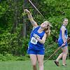 Lunenburg's Lauren Basque competes in Saturday's district track meet at Lunenburg. SENTINEL & ENTERPRISE / Ashley Green