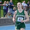 Nashoba's Erin Mcnemar competes in Saturday's district track meet at Lunenburg. SENTINEL & ENTERPRISE / Ashley Green