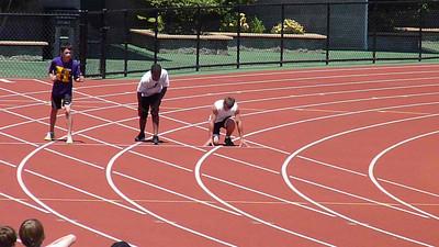 Dawson, 100m finals camera 2, 11-12 boys