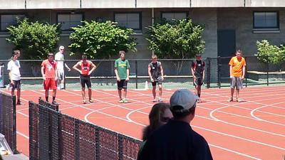 Dawson 100m final