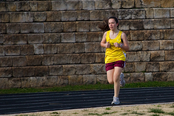 Hudson Bend Track Meet - Feb 25, 2010