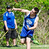 Lunenburg's Shawn Bingham competes in the javelin during the meet at Lunenburg High on Wednesday afternoon. SENTINEL & ENTERPRISE / Ashley Green