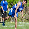 Lunenburg's Sean Cunningham competes in the javelin during the meet at Lunenburg High on Wednesday afternoon. SENTINEL & ENTERPRISE / Ashley Green
