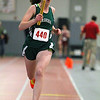 Nashoba's Freshman Kara Mannion competes in the 4X400 at the Mid-Wach B championship on Saturday in Fitchburg.  SENTINEL & ENTERPRISE/JOHN LOVE
