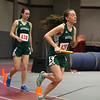 Nashoba's senior Taylor Brady takesoff after getting the baton from teamamte freshman Jenna Lahey during the 4X400 at the Mid-Wach B championship on Saturday in Fitchburg.  SENTINEL & ENTERPRISE/JOHN LOVE
