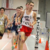 North Middlesex Regional High Schools junior Chris Skelly competes in the 2 mile at the Mid-Wach A championship on Saturday in Fitchburg.  SENTINEL & ENTERPRISE/JOHN LOVE
