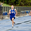 Lunenburg's Mitchell Hollis and Chad LeBlanc run the 200 meter Mid-Wach C track championship on Thursday afternoon. SENTINEL & ENTERPRISE / Ashley Green