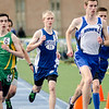 Lunenburg's Bobby Gardner runs the 2 mile during the Mid-Wach C track championship on Thursday afternoon. SENTINEL & ENTERPRISE / Ashley Green