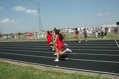 Wichita Track City League Middle school 2005.