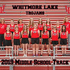 2019 Whitmore Lake Middle School Womens TrackTeam 8x10