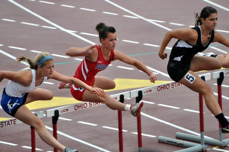 Columbus, Ohio State Meet 100 Hurdles