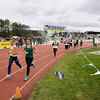 Record-Eagle/Keith King<br /> The girls 1,600-meter run takes place Wednesday, April 11, 2012 at Traverse City Central High School.