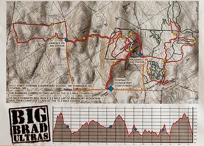Trail Monsters_50 Mi/ 50 K_Bradbury_October 20, 2013