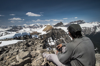 Summit of Mt Bosworth