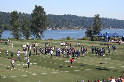Seahawk Training Camp 2013