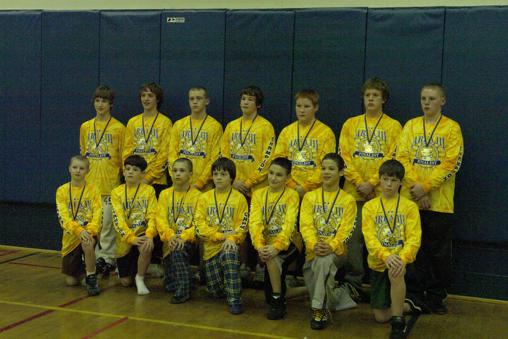 Ages 11 & 12 Area III Champions