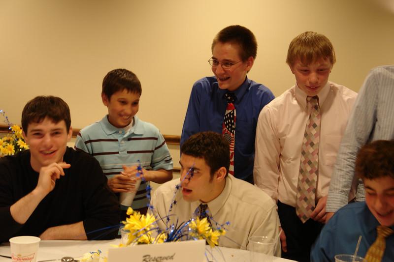 Andrew, Connor, Zack, David, Josh, Luke