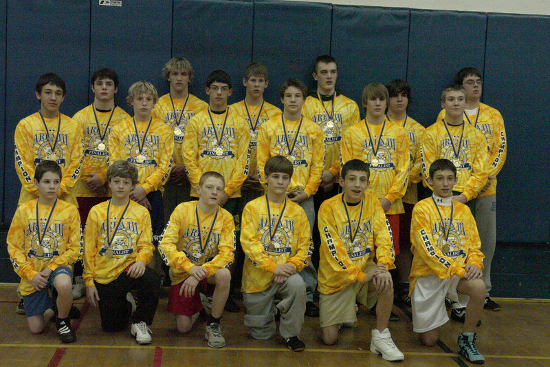 Ages 13 & 14 Area III Champions