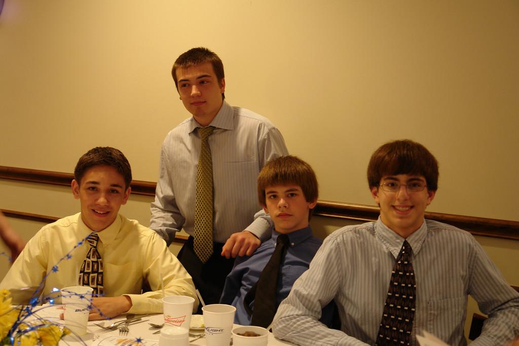 Trevor, Chase, Dakota, Adam