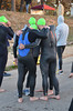 Triathlon Boerne City Lake, 24 Mar 13. Hosted by Britton's Bicycle Shop. Over 70 athletes competed in the 70.3 mile event.