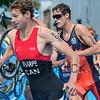Matthew Sharp from Canada at the 2016 Holten ETU Sprint Triathlon Premium European Cup, held in Holten the Netherlands on Saturday July the 2nd 2016.