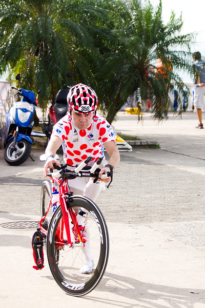 Jose Contreras at Ironman 70.3, Panama 2013.