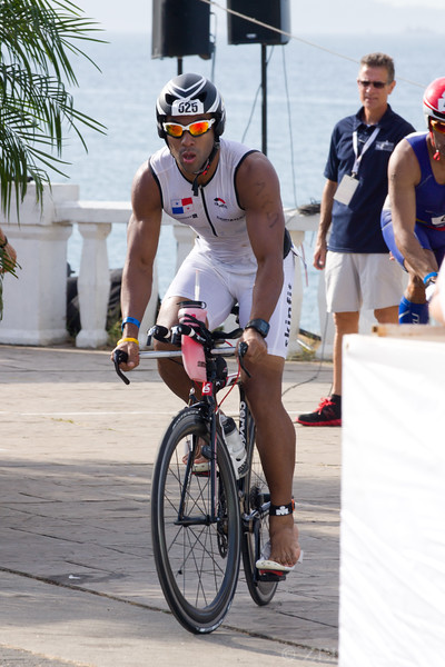 Antonio Campos from Panama at Ironman 70.3, Panama 2013.