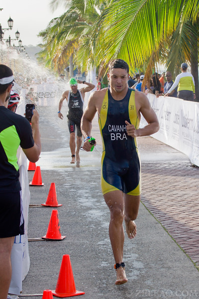 Mauro Cavanha from Brazil at Ironman 70.3, Panama 2013.