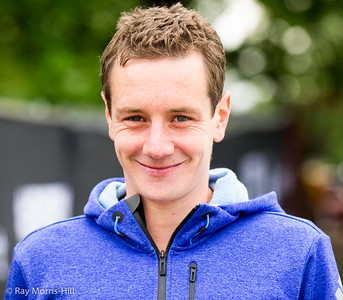 Alistair Brownlee in relaxed mood after his success