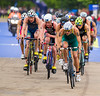 Aaron Royle (AUS) leads the pack