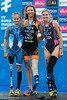 P2 Medallists: Liisa Lilja (2nd), Saskia Van Den Ouden (1st) and Allyssa Seely (3rd)