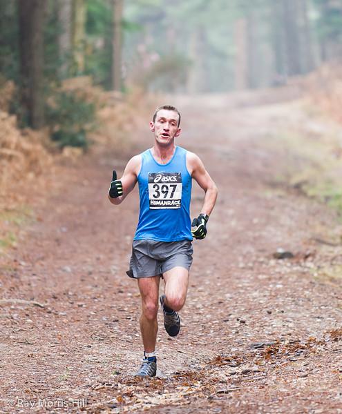 Matthew King, winner of the Run event