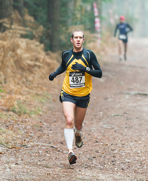 Guy Bowles, 3rd in the Run event