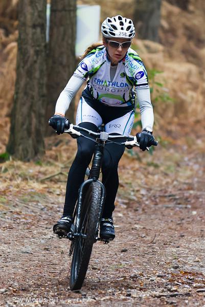 Fiona Moorehead-Lane, 3rd in the Women's Duathlon