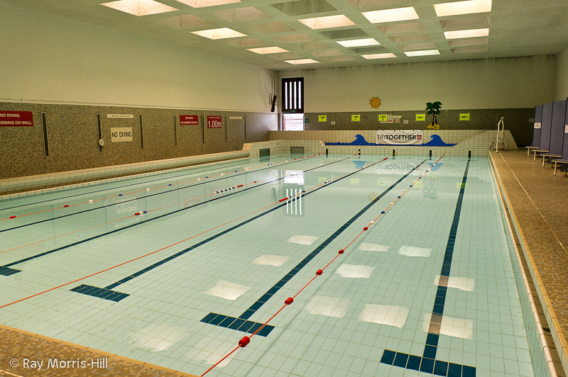 An empty pool, waiting for swimmers.