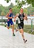 Maik Petzold (GER) ahead of William Clarke (GBR)