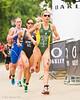 Jodie Stimpson (GBR), Andrea Hewitt (NZL) and Emma Jackson (AUS)