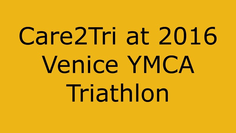 Care2Tri at Venice YMCA Triathlon Video