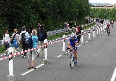 Start of race for Plomi, 9.50am, July 12th, 2009.