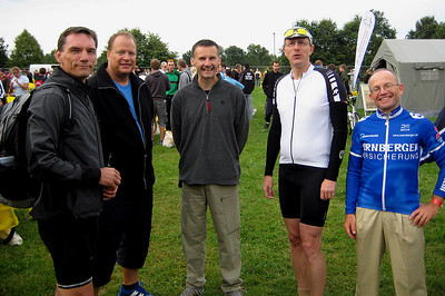 Early in the morning before the start of Quelle Challenge 2009.