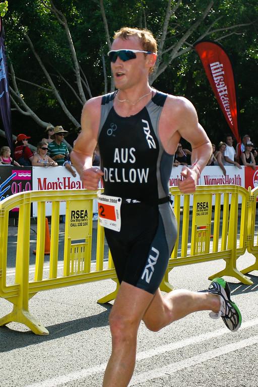 """David Dellow - 2008 Noosa Triathlon, Noosa Heads, Sunshine Coast, Queensland, Australia. Photos by Des Thureson - <a href=""""http://disci.smugmug.com"""">http://disci.smugmug.com</a>"""