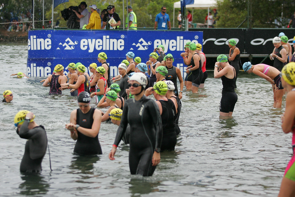 Preparations & Swim Leg - 2009 Noosa Triathlon, 1 November 2009.